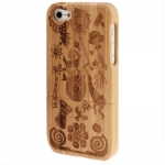 Case เคส Primitive Society Woodcarving iPhone 5