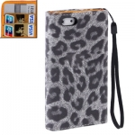 Case เคส Leopard iPhone 5 (Grey)