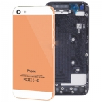 Full Housing Alloy Back Cover iPhone 5 (Champagne) ***