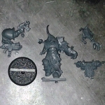 Chaos Space Marine Chosen with Power Fist DV single
