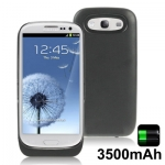 3500mAh Portable Power Bank Samsung Galaxy S 3 III (Black)