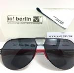 แว่นกันแดด ic berlin model neutor black