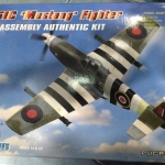 1/72 P-51C Mustang Fighter