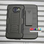 (002-047)เคสมือถือซัมซุง Case Samsung S6 เคสกันกระแทกสุดฮิตเหน็บเอวได้