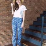 Mos Campion Blue Jeans Pants