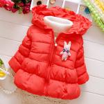 เสื้อกันหนาวสีแดงแต่งตุ๊กตา ไม่มีเสื้อขาวตัวในนะค่ะ