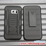 (002-057)เคสมือถือซัมซุง Case Samsung S6 edge เคสรุ่นกันกระแทกขอบสีเหน็บเอว