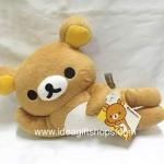 ตุ๊กตา Rilakkuma ท่านอน หมีขี้เกียจ ขนาด 35 cm ลิขสิทธิ์แท้