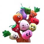 TO-012 ตุ๊กตานิ้วมือ ชุดผัก-ผลไม้ (10 ตัว)
