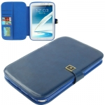 Case เคส High Quality Crazy Horse Samsung Galaxy Note 8.0 (N5100) (Blue)