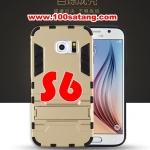 (394-008)เคสมือถือซัมซุง Case Samsung S6 เคสนิ่มกันกระแทกสองชิ้นประกบสไตล์ Iron Man