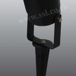 โคมไฟปักดิน,โคมฝังพื้น SL-12-3701-BK