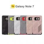 (002-161)เคสมือถือซัมซุง Case Samsung Galaxy Note7 เคสนิ่ม+พลาสติกสไตล์กันกระแทกขอบสีสวยๆ
