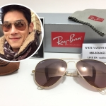 RB 3025 AVIATOR LARGE METAL 001/3E 58-14 2N <พิ้งโกลด์>