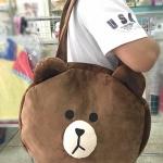 กระเป๋าหน้าหมีบราวน์ ใบใหญ่