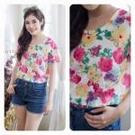 Summer Flower Tshirt