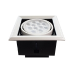 LED Downlight grill 1x12W