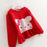 เสื้อกันหนาวไหมพรม สำหรับอายุ 1-4 ปี