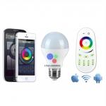 LED Wifi Bulb 6w RGB (ไม่รวมรีโมทและคอนโทรลเลอร์)