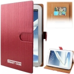 Case เคส Vertical Stripes Samsung Galaxy Note 8.0 (N5100)(Red)