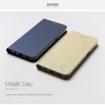 Zenus : Metallic Diary / Carrying Case For Galaxy S7