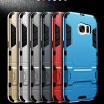 (439-016)เคสมือถือซัมซุง Case Samsung S7 Edge เคสขอบนิ่มพื้นหลังเกราะ IRONMAN