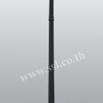 โคมไฟหัวเสาสนามนอกบ้าน SL-11-5018CF-BK-M-3A