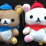ตุ๊กตาน้องหมี Rilakkuma และ Korilakkuma in Paris Collection 1 (ราคาต่อคู่คะ)