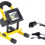 LED Flood light Battery Rechargeabel 10W