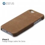 ZENUS : Prestige Vintage Leather Bar Series for Apple iPhone 5