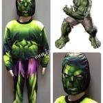 Hulk (งานลิขสิทธิ์) ชุดแฟนซีเด็กฮัอล์ค 3 ชิ้น เสื้อ กางเกง & หน้ากาก ให้คุณหนูๆ ได้ใส่ตามจิตนาการ ผ้ามัน Polyester ใส่สบายค่ะ หรือจะใส่เป็นชุดนอนก็ได้ค่ะ size 4, 6, 8, 10