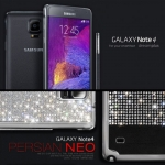 Dreamplus : Persian Neo Crystal Cubic Hard Case Cover Casing For Galaxy Note 4
