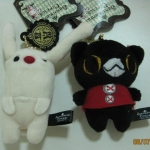 พวงกุญแจ sentimental circus แมวดำ Kuro กับ กระต่าย Toto (ขายเป็นคู่) ราคาต่อคู่ค่ะ