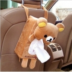 ที่ใส่ทิชชู่ในรถ ลาย Rilakkuma ริลัคคุมะ หมีน้ำตาล (ซื้อ 3 ชิ้น ราคาส่งชิ้นละ 200 บาท)