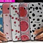 (440-038)เคสมือถือซัมซุง Case Samsung A8 เคสนิ่มขอบสีพื้นหลังลายสวยๆน่ารักๆ