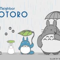 Totoro โทโทโร่ ตุ๊กตา กระเป๋า หมอน