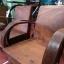 ชุดเก้าอี้รถถังแขนโค้ง ขาเหลาหุ้มปลอกทองเหลือง รหัส11457cw thumbnail 9