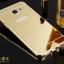 (025-118)เคสมือถือซัมซุง Case Samsung A9 Pro เคสกรอบโลหะพื้นหลังอะคริลิคแวววับคล้ายกระจกสวยหรู thumbnail 5