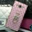 (442-009)เคสมือถือซัมซุง Case Samsung A8 เคสนิ่มใสขอบชุบแววลายโมเสคแก้ว thumbnail 7