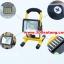 (374-001)สปอร์ตไลท์พกพาแบบชาร์จไฟ หลอด 20LED 30W พร้อมระบบไฟฉุกเฉิน thumbnail 2