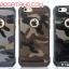 (385-047)เคสมือถือไอโฟน 4/4s Case iPhone เคสนิ่มกรอบหลังพลาสติกแข็งลายพรางกันกระแทก thumbnail 1