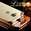 (417-001)เคสมือถือ Case Huawei G7 Plus เคสกรอบโลหะพื้นหลังอะคริลิคเคลือบเงาทอง 24K thumbnail 1