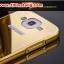 (025-132)เคสมือถือซัมซุง Case Mega 5.8 เคสกรอบโลหะพื้นหลังอะคริลิคเคลือบเงาทองคำ 24K thumbnail 3