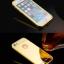 (025-162)เคสมือถือไอโฟน case iphone 5/5s เคสกรอบโลหะพื้นหลังอะคริลิคเคลือบเงาทองคำ 24K thumbnail 5