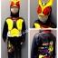 Masked Rider Agito (งานลิขสิทธิ์) ชุดแฟนซีเด็กมาค์ส ไรเดอร์ อากิโตะ 3 ชิ้น เสื้อ กางเกง & หน้ากาก ให้คุณหนูๆ ได้ใส่ตามจิตนาการ ผ้ามัน Polyester ใส่สบายค่ะ หรือจะใส่เป็นชุดนอนก็ได้ค่ะsize S, M, L, XL thumbnail 1