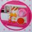 ชุดห้องครัวของเล่นเด็ก เตามีเสียง มีไฟ มีตู้เย็น Modern Kitchent thumbnail 4