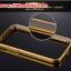 (025-132)เคสมือถือซัมซุง Case Mega 5.8 เคสกรอบโลหะพื้นหลังอะคริลิคเคลือบเงาทองคำ 24K thumbnail 6