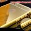 (025-162)เคสมือถือไอโฟน case iphone 5/5s เคสกรอบโลหะพื้นหลังอะคริลิคเคลือบเงาทองคำ 24K thumbnail 3