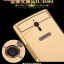 (396-001)เคสมือถือ OPPO X9007 Find 7 เคสกรอบโลหะพื้นหลังอะคริลิคเคลือบเงาทองคำ 24K thumbnail 5