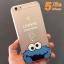 (151-170)เคสมือถือไอโฟน case iphone 5/5s Soft Case เทกเจอร์ผ้าไหม Cookie Monster thumbnail 6